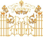 clipart-of-ornate-gold-front-gates-of-heaven-z6GY3U-clipart